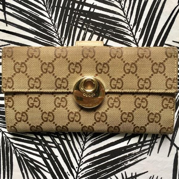 Gucci Handbags - Gucci Long Wallet